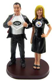football wedding cake toppers wedding cake toppers that look like you by bobblegram sports