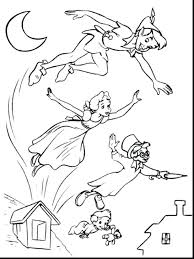 peter pan coloring pages free colouring print ideas intended