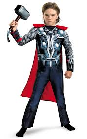 Avengers Halloween Costume Avengers Thor Classic Muscle Chest Child Costume Costume