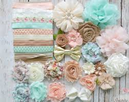 how to make baby flower headbands headband station etsy