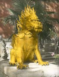 qilin statue statue of qilin kylin or legendary unicorn in the