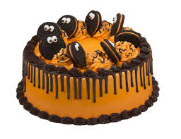 birthday halloween cake no tricks just treats baskin robbins celebrates halloween season