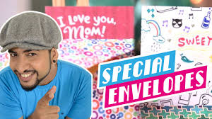 mad stuff with rob how to make a special envelope mother u0027s day