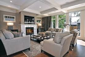 furniture neutral living room ideas with recessed lighting also