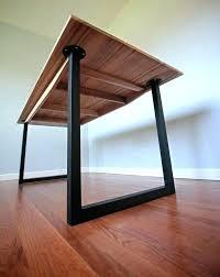 industrial hairpin leg desk desk with metal legs desk legs metal medium size of coffee metal