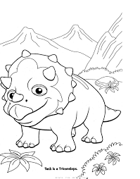 dinosaur train coloring pages alric coloring pages