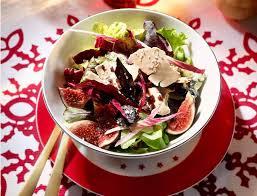 recette cuisine femme actuelle salade folle une entrée de fêtes fraîche et gourmande femme