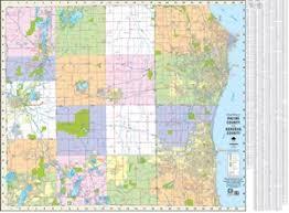 kenosha map themapstore racine county kenosha county wall map