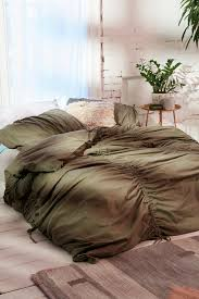 premium gathered duvet cover urban outfitters