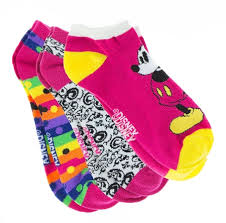 socks for mickey mouse disney world 3 pack