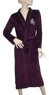 robe de chambre en velours city robe de chambre de nuit comme de jour