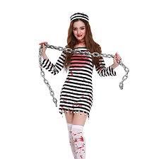Halloween Inmate Costume Affordable Prisoner U0026 Felon Uniform Costumes Women