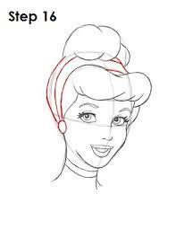 draw cinderella