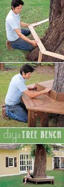 42 diy ideas to increase curb appeal tree bench box houses and