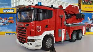 bruder fire truck new sales