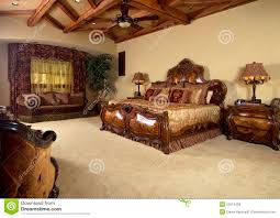 royalty free stock images master bedroom unique bed with master