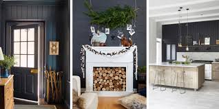 Interior Shiplap 15 Black Shiplap Ideas How To Style The Black Shiplap Trend