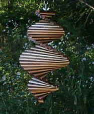 how to make a spiral wind spinner lawn woodworking and