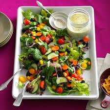 rainbow veggie salad recipe taste of home