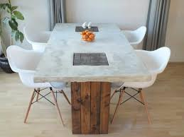 pottery barn concrete table best dining tables diy concrete dining table outdoor japanese