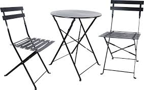 Folding Table by Amazon Com Carlota Furniture Outdoor Bistro Set Features 1