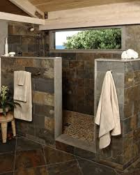 Cabin Bathrooms Ideas by Bathroom Showers Without Doors Bathroom Ideas Traditional Style Of