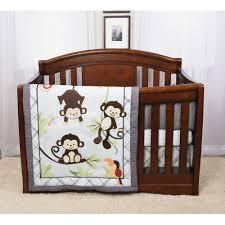 Crib Bedding Monkey Baby S By Nemcor Hangin Around Monkey Motif 4 Crib