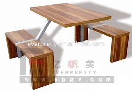 Dining Table Without Chairs Rectangular Table Benches Factory Price Knock Down Dining Table