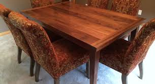 Slab Dining Room Table Table Walnut Dining Room Table Beautiful Walnut Dining Table