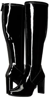 womens boots the knee amazon com nine s kellan wide stretch knee high boot