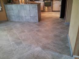 floor installation photos slate looking porcelain tile in richboro pa