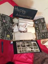 one year anniversary gifts for husband one year anniversary deployment care package paper anniversary