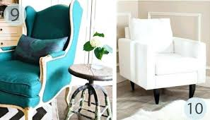turquoise chair slipcover turquoise wing chair furniture of cm collection mid century style