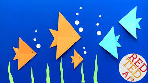 easy origami fish diy easy origami for kids very easy summer