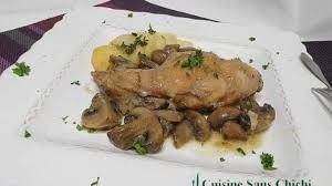 cuisine lapin au vin blanc gigolettes de lapin aux chignons recette par cuisine sans chichi