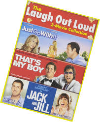 adam sandler laugh out loud dvd 3 movies just go with it jack