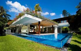 dream oasis 4 tropical nature centric homes by guz architects