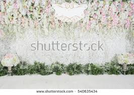 wedding backdrop pictures wedding backdrop flower wedding decoration stock photo 540635434