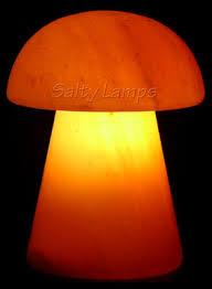 salty lamps mushroom rock salt lamp made from natural