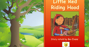 red riding hood story book google slides