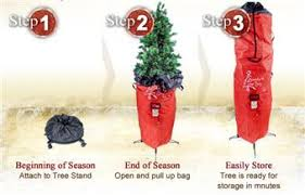 tree storage tree upright storage bag by