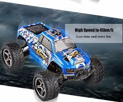 1 24 scale monster jam trucks wltoys 12402 rc 2 4g 4wd electric monster truck 84 21 online