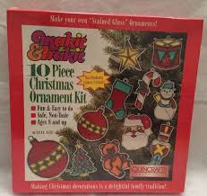 10 makit bakit make it bake it ornament kit santa tree