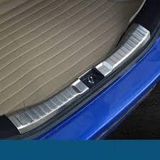davanzali interni accessori in acciaio inox pedana paraurti posteriore interna