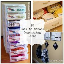 10 back to organization ideas fun home things
