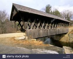 New Hampshire travel box images Keniston covered bridge located in andover new hampshire usa north jpg
