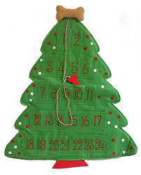 amazon com dog puppy christmas tree shaped hanging countdown