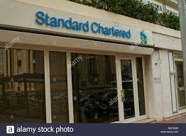 Standard Chartered Bank Monaco Monte Carlo Standard Chartered Bank Front Building Stock