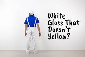 how to clean yellowed white doors best white gloss paint that doesn t yellow diy