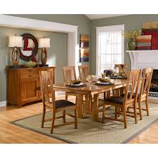 a america cattail bungalow trestle dining table hayneedle